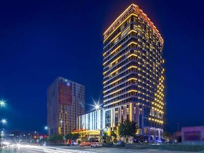 exterior view - hotel wanda realm wuhu - wuhu, china