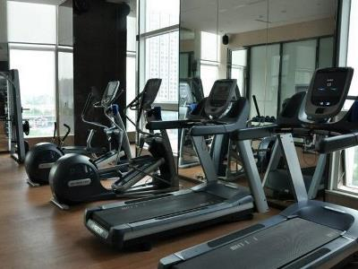 gym - hotel wanda realm wuhu - wuhu, china