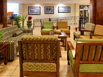 lobby - hotel holiday inn express san jose airport - san jose, costa rica