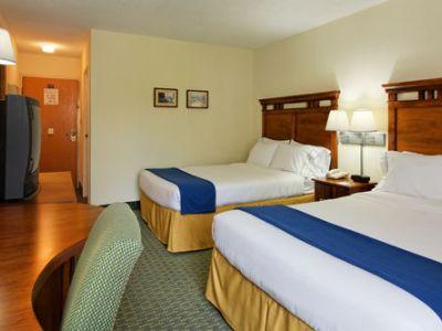 bedroom 2 - hotel holiday inn express san jose airport - san jose, costa rica