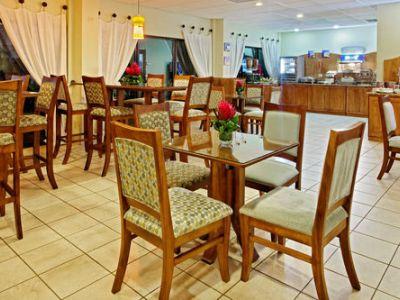 breakfast room - hotel holiday inn express san jose airport - san jose, costa rica
