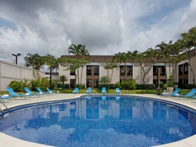 outdoor pool 1 - hotel holiday inn express san jose airport - san jose, costa rica