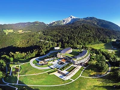 exterior view 1 - hotel kempinski berchtesgaden - berchtesgaden, germany