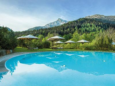 outdoor pool - hotel kempinski berchtesgaden - berchtesgaden, germany