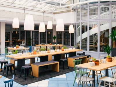 breakfast room - hotel vienna house easy braunschweig - braunschweig, germany