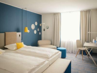 bedroom 2 - hotel vienna house easy braunschweig - braunschweig, germany