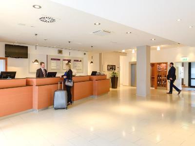 lobby - hotel mercure koln west - cologne, germany