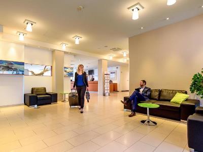 lobby 1 - hotel mercure koln west - cologne, germany