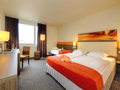 bedroom 2 - hotel mercure koln west - cologne, germany