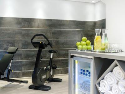 gym - hotel nh collection koln mediapark - cologne, germany