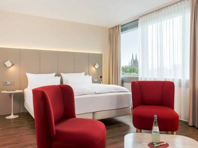 bedroom - hotel nh collection koln mediapark - cologne, germany