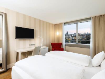 bedroom 3 - hotel nh collection koln mediapark - cologne, germany
