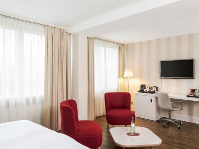 bedroom 6 - hotel nh collection koln mediapark - cologne, germany