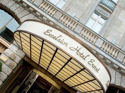 exterior view - hotel excelsior ernst - cologne, germany