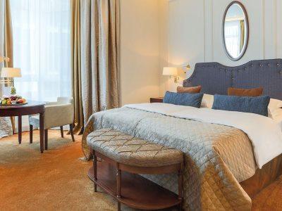 bedroom - hotel excelsior ernst - cologne, germany