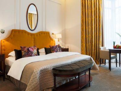 bedroom 1 - hotel excelsior ernst - cologne, germany