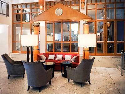 lobby - hotel mercure dortmund centrum - dortmund, germany