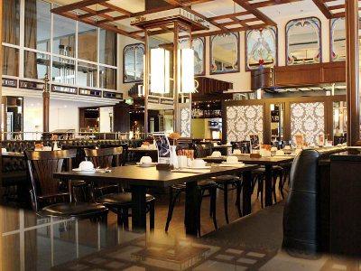 restaurant - hotel mercure dortmund centrum - dortmund, germany