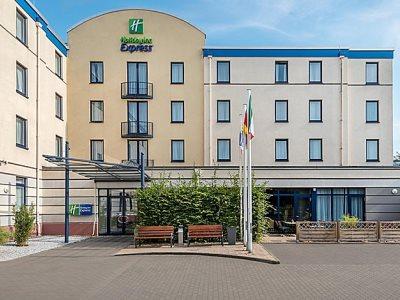 exterior view - hotel holiday inn express dortmund - dortmund, germany