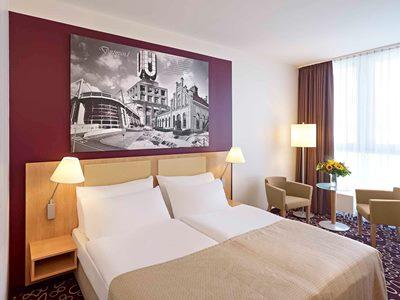 bedroom - hotel mercure dortmund city - dortmund, germany
