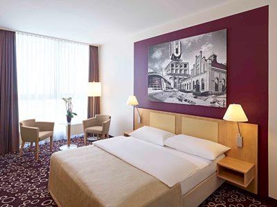 bedroom 1 - hotel mercure dortmund city - dortmund, germany