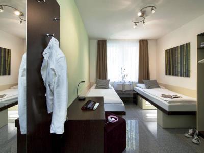 bedroom 1 - hotel ibis styles dortmund west - dortmund, germany