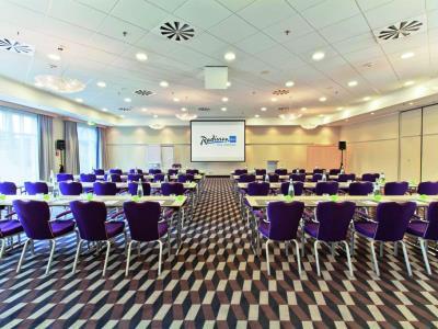 conference room - hotel radisson blu dortmund - dortmund, germany