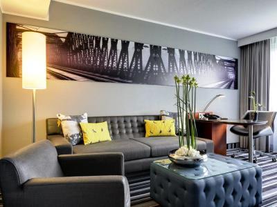 bedroom 1 - hotel radisson blu dortmund - dortmund, germany