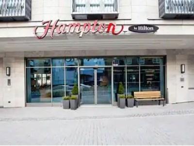 exterior view 2 - hotel hampton by hilton dortmund phoenix see - dortmund, germany