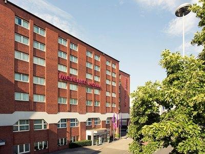 exterior view - hotel mercure hotel duisburg city - duisburg, germany