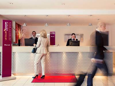 lobby - hotel mercure hotel duisburg city - duisburg, germany