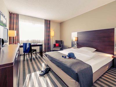 bedroom - hotel mercure hotel duisburg city - duisburg, germany