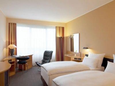 bedroom - hotel nh dusseldorf city - dusseldorf, germany