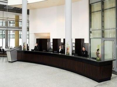 lobby - hotel nh dusseldorf city - dusseldorf, germany