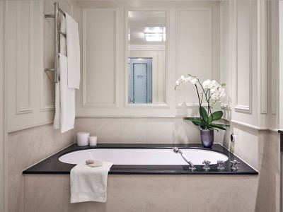 bathroom 1 - hotel breidenbacher hof - dusseldorf, germany