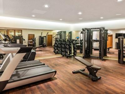 gym - hotel breidenbacher hof - dusseldorf, germany