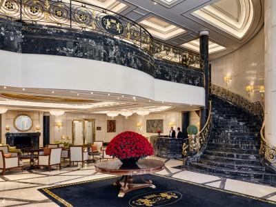 lobby - hotel breidenbacher hof - dusseldorf, germany