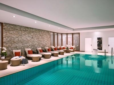 indoor pool - hotel breidenbacher hof - dusseldorf, germany