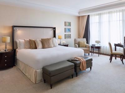 suite - hotel breidenbacher hof - dusseldorf, germany