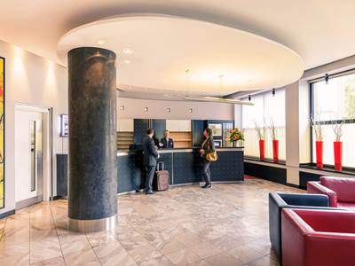lobby - hotel mercure duesseldorf city center - dusseldorf, germany