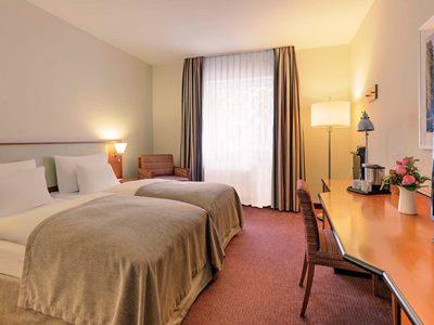 bedroom - hotel mercure duesseldorf city center - dusseldorf, germany