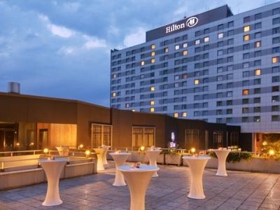 exterior view - hotel hilton dusseldorf - dusseldorf, germany