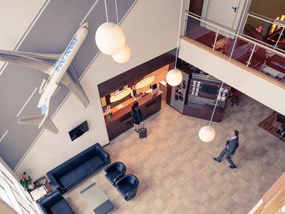lobby - hotel mercure duesseldorf ratingen - dusseldorf, germany