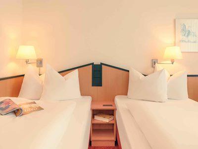 bedroom - hotel mercure duesseldorf ratingen - dusseldorf, germany