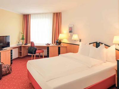 bedroom 1 - hotel mercure duesseldorf ratingen - dusseldorf, germany