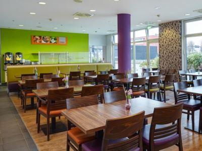 breakfast room - hotel holiday inn express city-north - dusseldorf, germany