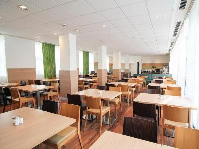 breakfast room - hotel ibis dusseldorf hauptbahnhof - dusseldorf, germany
