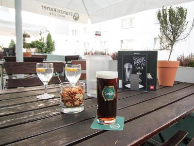 bar 4 - hotel ibis dusseldorf hauptbahnhof - dusseldorf, germany