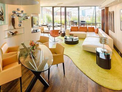 suite 1 - hotel intercontinental duesseldorf - dusseldorf, germany
