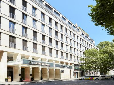 exterior view - hotel intercontinental duesseldorf - dusseldorf, germany